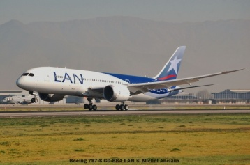 92 Boeing 787-8 CC-BBA LAN © Michel Anciaux