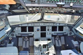 95 Airbus A321-211(SL) CC-BEA LAN Airlines © Michel Anciaux