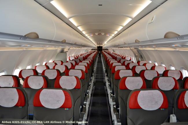 97 Airbus A321-211(SL) CC-BEA LAN Airlines © Michel Anciaux