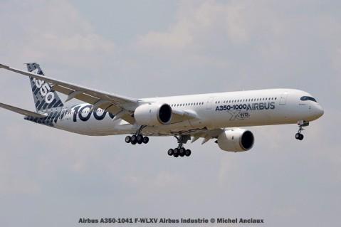 DSC_0070 Airbus A350-1041 F-WLXV Airbus Industrie © Michel Anciaux