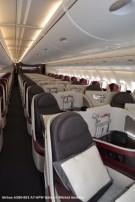 DSC_0345 Cabin of Airbus A380-861 A7-APW Qatar © Michel Anciaux