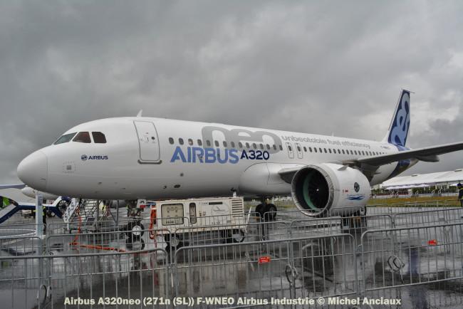 DSC_0735 Airbus A320neo (271n (SL)) F-WNEO Airbus Industrie © Michel Anciaux