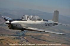 DSC_1085 Beech A-45 (T-34) Mentor CC-KST Club Aéreo de Santiago © Michel Anciaux