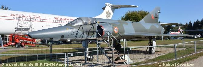 DSC_5648 Dassault Mirage III R 33-TN Amée de l'Air © Hubert Creutzer