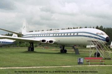DSC_5679 De Havilland DH 106 Comet 4C ex G-BDIW Dan-Air London © Michel Anciaux