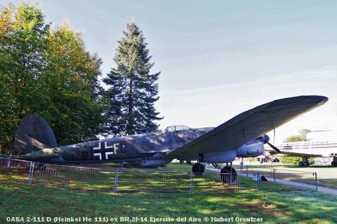 DSC_5682 CASA 2-111 D (Heinkel He 111) ex BR.2I-14 Ejercito del Aire © Hubert Creutzer
