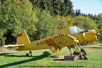 DSC_5758 Let Z-37A Cmelak D-ESSJ ex DDR-SSJ Interflug © Hubert Creutzer