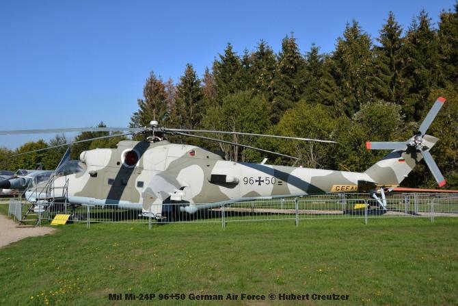 DSC_5780 Mil Mi-24P 96+50 German Air Force © Hubert Creutzer