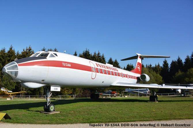 DSC_5787 Tupolev TU-134A DDR-SCK Interflug © Hubert Creutzer