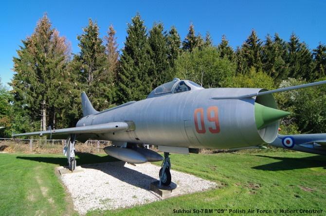 DSC_5800 Sukhoi Su-7BM ''09'' Polish Air Force © Hubert Creutzer