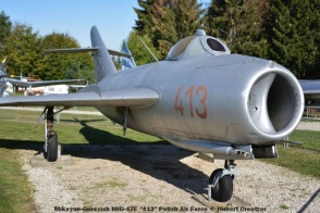 DSC_5825 Mikoyan-Gurevich MiG-17F ''413'' Polish Air Force © Hubert Creutzer