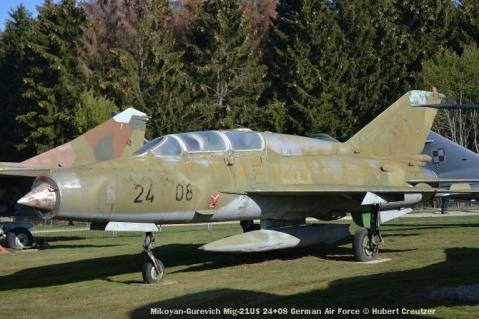 DSC_5827 Mikoyan-Gurevich Mig-21US 24+08 German Air Force © Hubert Creutzer