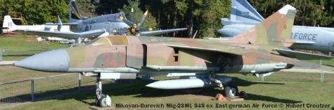 DSC_5843 Mikoyan-Gurevich Mig-23ML 343 ex East german Air Force © Hubert Creutzer
