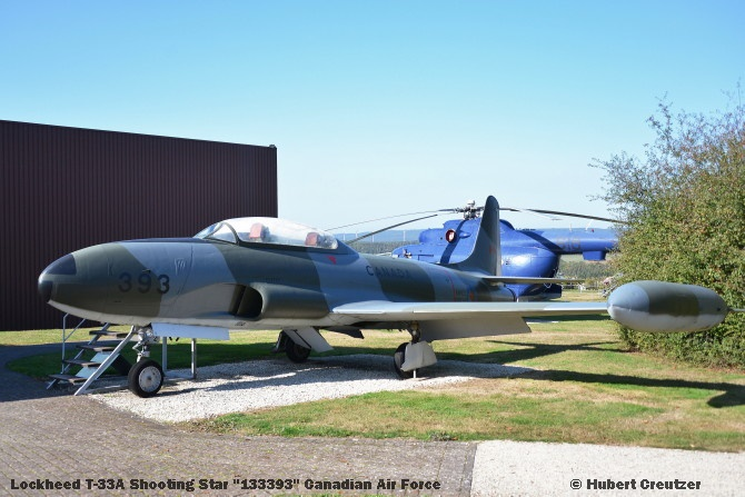 DSC_5865 Lockheed T-33A Shooting Star ''133393'' Canadian Air Force © Hubert Creutzer
