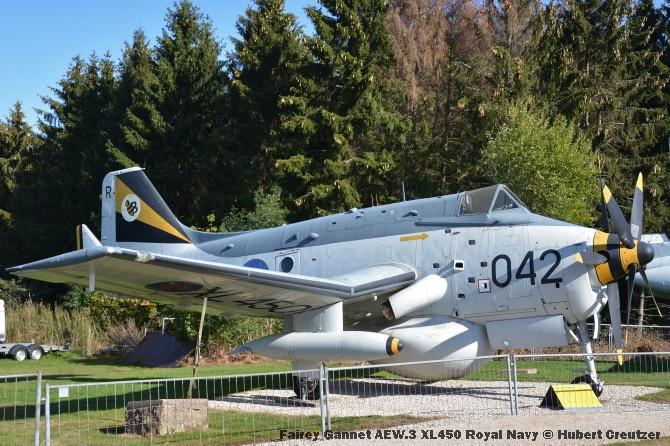 DSC_5896 Fairey Gannet AEW.3 XL450 Royal Navy © Hubert Creutzer