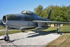 DSC_5912 Republic F-84F-45-RE Thunderstreak BF+105 German Air Force © Hubert Creutzer