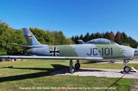 DSC_5924 Canadair CL-13B Sabre Mk6 JC-101 German Air Force © Hubert Creutzer