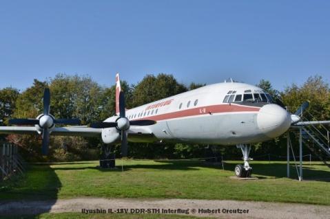 DSC_5975 Ilyushin IL-18V DDR-STH Interflug © Hubert Creutzer