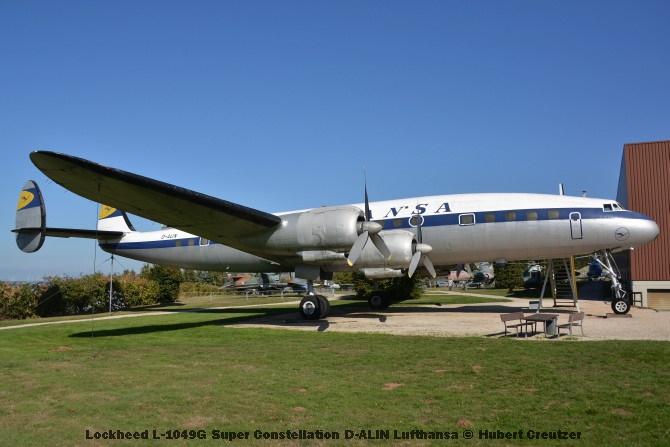 DSC_5987 Lockheed L-1049G Super Constellation D-ALIN Lufthansa © Hubert Creutzer