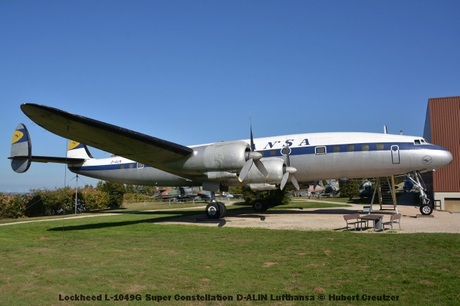 DSC_5987 Lockheed L-1049G Super Constellation D-ALIN Lufthansa © Hubert Creutzer