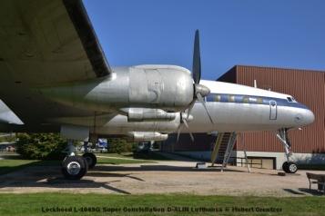 DSC_5989 Lockheed L-1049G Super Constellation D-ALIN Lufthansa © Hubert Creutzer