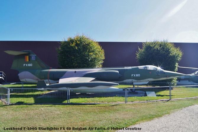 DSC_6010 Lockheed F-104G Starfighter FX 60 Belgian Air Force © Hubert Creutzer