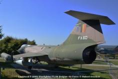 DSC_6018 Lockheed F-104G Starfighter FX 60 Belgian Air Force © Hubert Creutzer