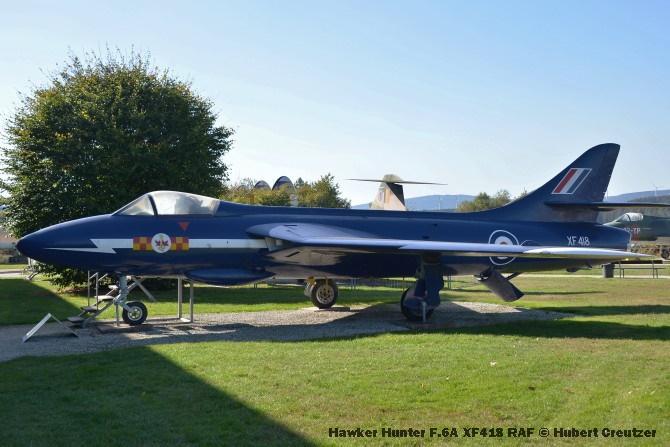 DSC_6032 Hawker Hunter F.6A XF418 RAF © Hubert Creutzer