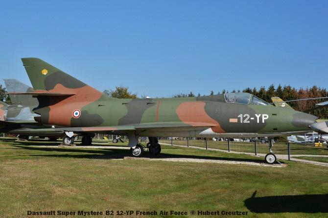 DSC_6043 Dassault Super Mystere B2 12-YP French Air Force © Hubert Creutzer