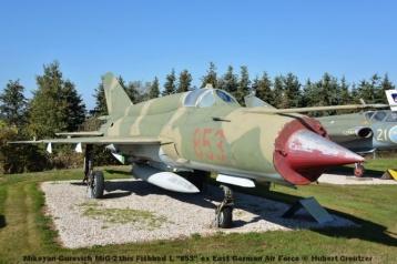 DSC_6066 Mikoyan-Gurevich MiG-21bis Fishbed L ''853'' ex East German Air Force © Hubert Creutzer