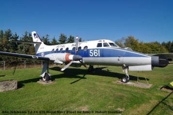 DSC_6081 BAe Jetstream T.2 XX 476 Royal Navy (Fleet Air Arm) © Hubert Creutzer