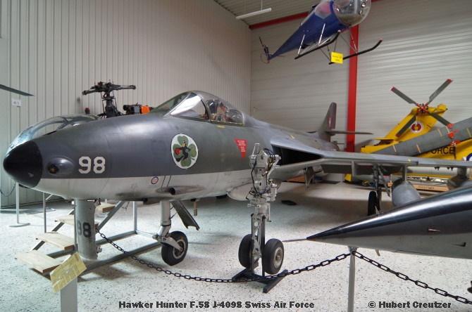 DSC_6104 Hawker Hunter F.58 J-4098 Swiss Air Force © Hubert Creutzer