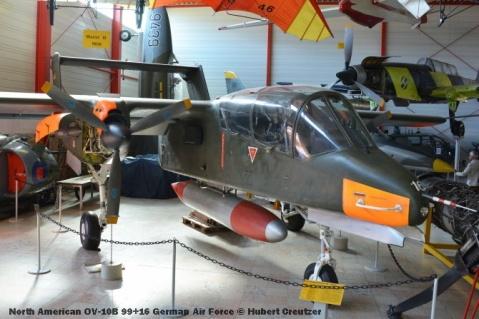 DSC_6121 North American OV-10B 99+16 German Air Force © Hubert Creutzer