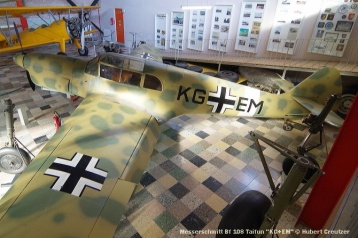 DSC_6202 Messerschmitt Bf 108 Taifun ''KG+EM'' © Hubert Creutzer