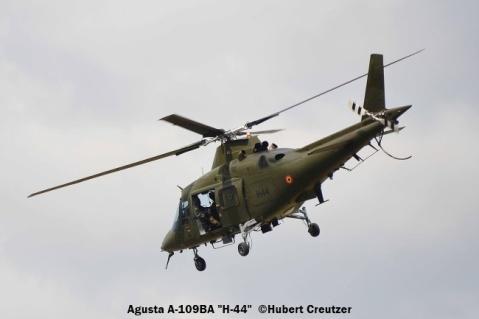 DSC_7386 Agusta A-109BA ''H-44'' Belgian Army © Hubert Creutzer