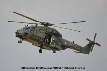 DSC_7430 NHIndustrie NH90 Caïman ''RN-05'' Belgian Air Force © Hubert Creutzer