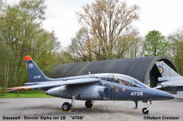 DSC_7470 Dassault - Dornier Alfa Jeyt 1B ''AT08'' Belgian Air Force © Hubert Creutzer