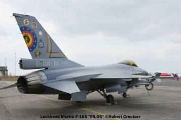 DSC_7478 Lockheed Martin F-16A ''FA-05'' Belgian Air Force © Hubert Creutzer