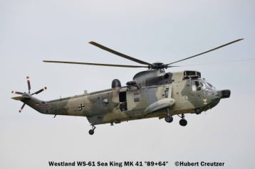 DSC_7537 Westland WS-61 Sea King Mk41 89+64 German Navy © Hubert Creutzer