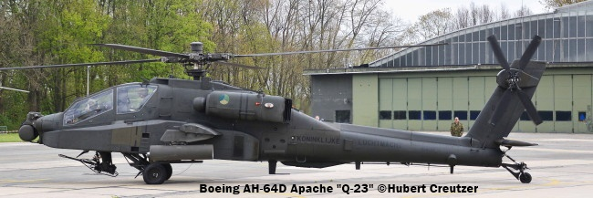 DSC_7551 Boeing AH-64D Apache ''Q-23'' Royal Netherlands Air Force © Hubert Creutzer