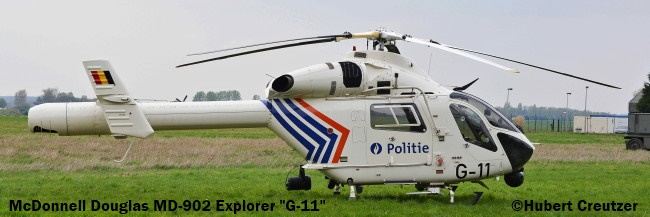 DSC_7643 McDonnell Douglas MD-902 Explorer ''G-11'' Belgian National Police © Hubert Creutzer