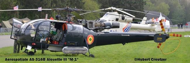 DSC_7686 Aérospatiale AS-316B Alouette III ''M-1'' Belgian Navy © Hubert Creutzer