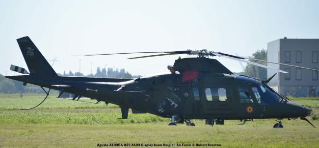 DSC_7969 Agusta A109BA H29 A109 Display Team Belgian Air Force © Hubert Creutzer