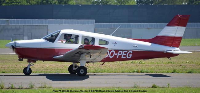 DSC_8031 Piper PA-28-161 Cherokee Warrior II OO-PEG Royal Antwerp Aviation Club © Hubert Creutzer