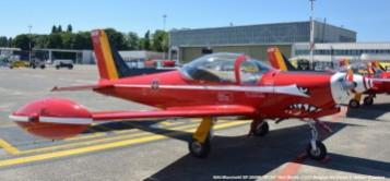 DSC_8085 SIAI-Marchetti SF-260M '_ST-34__ Red Devils colours Belgian Air Force © Hubert Creutzer