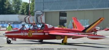 DSC_8138 Fouga CM-170 Magister MT-05 Red Devils colours Belgian Air Force © Hubert Creutzer