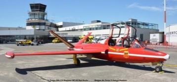 DSC_8159 Fouga CM-170 Magister MT-05 Red Devils colours Belgian Air Force © Hubert Creutzer