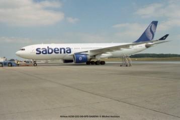 img017 Airbus A330-223 OO-SFS SABENA © Michel Anciaux