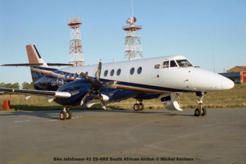 img1031 BAe Jetstream 41 ZS-NRE South African Airlink © Michel Anciaux