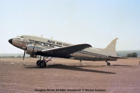 img1089 Douglas DC-3C ZS-MRU Wonderair © Michel Anciaux